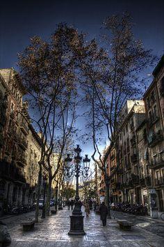 Passeig del Born, Barcelona, Catalunya, Spain