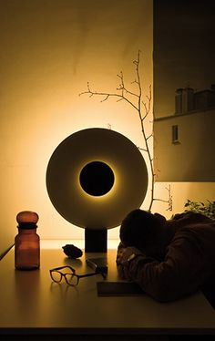 Luminaire Phases par Ferréol Babin