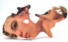 Lorna Barnshaw's 3D-printed self-portraits, now on... • Hi-Fructose Magazine