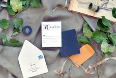 sweet and simple RSVP cards | Smitten on Paper