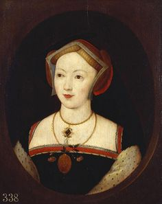 Mary Boleyn, sister of Anne Boleyn | This portrait hangs in Hollyrood Palace, Edinburgh Scotland.