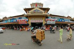Cholon, or the Binh Tay Market, is an indoor wholesale market which is well ...