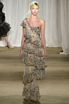 MARCHESA FALL 2013 READY-TO-WEAR