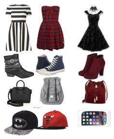 Untitled #100 by toxicupcakes on Polyvore featuring Valentino, Retrò, Converse, maurices, Givenchy, Herschel and Vince Camuto