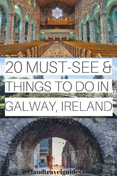 20 Things to do in Galway, Ireland – Including the Galway Cathedral. The last st… 20 Things to do in Galway, Ireland – Including the Galway Cathedral. The last stone Cathedral built in Western Europe! Europe Destinations, Europe Travel Tips, New Travel, Travel Guides, Places To Travel, European Travel, Travel Info, Budget Travel, Family Travel