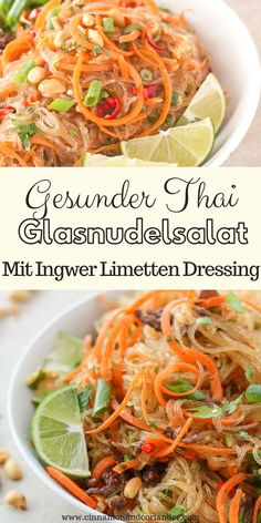 Fans of authentic Thai Cuisine will love my recipe for Thai Glass Noodle Salad - Yum Woon Sen. Thai Glass Noodle Salad, Healthy Dinner Recipes, Vegetarian Recipes, Dessert Recipes, Healthy Meal Prep, Asian Recipes, Food Inspiration, Chicken Recipes, Risotto