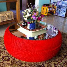 Riciclare pneumatici: 28 idee per un riciclo creativo