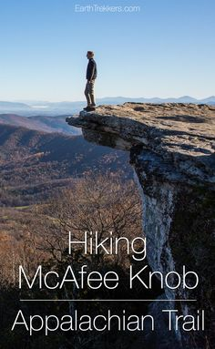 Hiking McAfee Knob, Appalachian Trail | Drone Video | Drone Photos | Travel Inspiration