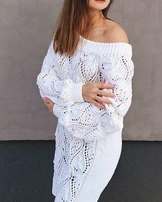 Ravelry: My Valentine pattern by Tatiana Uluceviz Lace Sweater, Stockinette, Needles Sizes, Stitch Markers, Knitting Needles, Ravelry, Pattern, Sweaters, Cotton