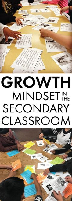 Growth mindset in the secondary classroom – famous failures activity #highschool #middleschool #growthmindset #famousfailures
