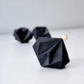 Origami Christmas, Black, Diamond, Black People, All Black