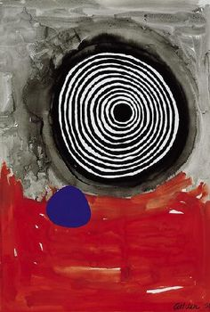 Alexander Calder(American, 1898-1976), Maelstrom with Blue, 1967