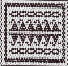 Pattern charts-Double Weave-South American and African mug rugs ...