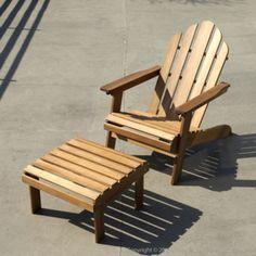 Repose pieds/Table basse d'appoint pour adirondack RIVERHAUK House Bay