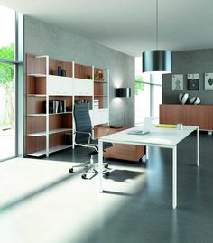 Modern Contemporary Office Desks and Furniture - Executive Office, Glass, Italian Desks