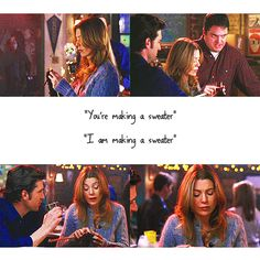 Meredith Grey's sure-fire way to stay single, knit sweaters.