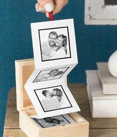 Cute idea, but we don't take a lot of pictures. Guess that just means I'll have to make him ;) I have to make this!