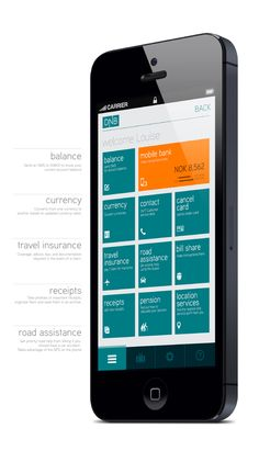 DNB.no Mobile App Re-design by Gerald Ssali, via Behance