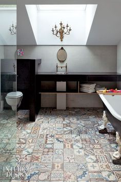 107945722292166274 patchwork bathroom tiles