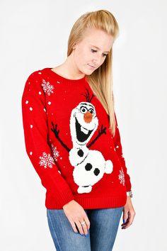 Vantage - Olaf Christmas Jumper, £18.00 (http://www.vantagefashion.co.uk/olaf-christmas-jumper/)