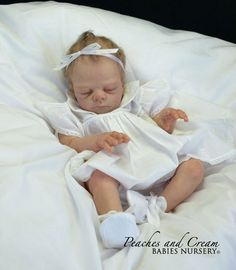 Peaches And Cream NEW RELEASE SOLD OUT 'Freya' By Tina Kewy Now Reborn Baby Nina | eBay