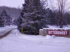 Ski Bittersweet Ski Resort then snuggle up to a fire in our luxury inn. #travel, #ski, #activities