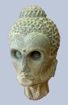 Pakistan Gandhara - 2nd-3rd cent. Buddha as an Ascetic (British Museum)..