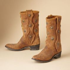 I'm such a sucker for boots and fell for these at first sight. Constella Cowgirl Boots - sundance