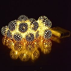 Ucharge Battery Powered Globe String Lights 20Led 19ft Indoor Lights for home, garden, patio, party, christmas Decorative - Warm Light Ucharge http://www.amazon.com/dp/B00YXK7OUM/ref=cm_sw_r_pi_dp_aiUMwb0Z734AF