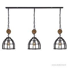 Grote landelijke hanglamp korf 3-lichts Ceiling Lights, Lighting, Pendant, Home Decor, Light Fixtures, Ceiling Lamps, Pendants, Lights, Interior Design