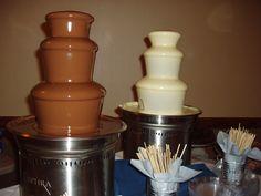 Milk Belgium Chocolate & White Belgium Chocolate Wedding Belgian Chocolate, Best Chocolate, Chocolate Fountains, Palm Beach County, Belgium, Milk, Parties, Wedding Ideas, Desserts