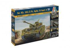 Carro Armato  Sd. Kfz. 161/2 Pz. Kpfw. IV Ausf. H scala 1:35