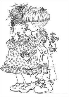 Sarah Kay Kleurplaten voor kinderen. Kleurplaat en afdrukken tekenen nº 8