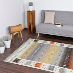 Cream Multi Rug by Theko Hard Floor, Pattern Design, Living Spaces, Art Pieces, Colours, Cream, Rugs, Abstract, Modern