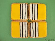 Striped Cookies from http://polishcookies.blogspot.com/