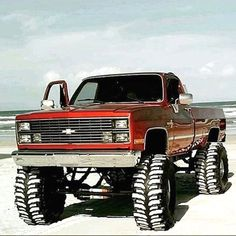 #Pickup #trucks Chevy Diesel Trucks, Chevy Pickup Trucks, Lifted Chevy Trucks, 4x4 Trucks, Custom Trucks, Cool Trucks, Chevy 4x4, Dodge Diesel, Vintage Chevy Trucks