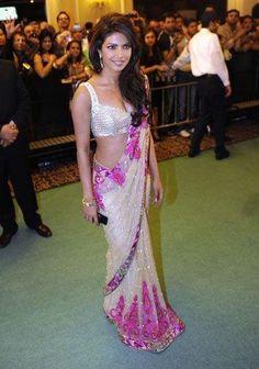 Priyanka Style Saree