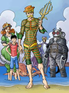 The Aquaman that I've always wanted.