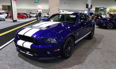 for the garage ... Ford Mustang Shelby Cobra GT500 SVT (Photo by Timothy Patrick Boyer, 2012)