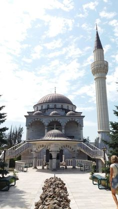 Mosque in Mariupol - ukraine Mariupol Ukraine, Charity Foundation, Country Codes, Travel Advice, Mosque, Taj Mahal, Mosques