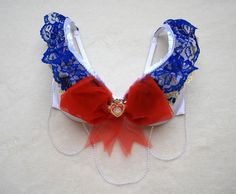 Super Kawaii Sailor Moon Rave Bra www.ravelux.storenvy.com  rave, edm, rave bra, rave wear, rave outfit, edc, electric daisy carnival, halloween costumes, custom lingerie