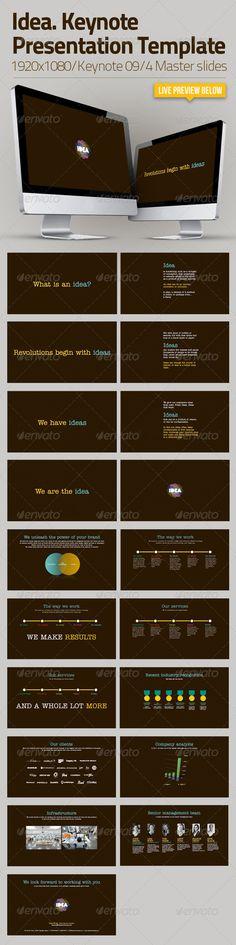 Optimus - Keynote Business Presentation Keynote, Business - business presentation