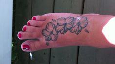 My Hibiscus Tattoo