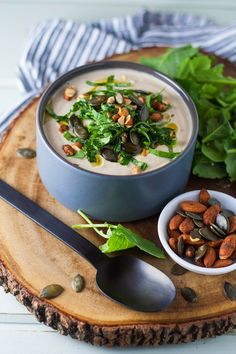 tasse d'amour has an amazing Creamy Roasted Cauliflower Soup Yum! Soup Recipes, Vegetarian Recipes, Cooking Recipes, Healthy Recipes, Cauliflower Soup, Roasted Cauliflower, Healthy Soup, Healthy Eating, Vegan Soup