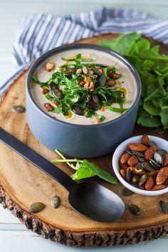 tasse d'amour: Creamy Roasted Cauliflower Soup