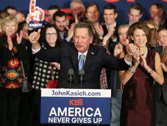 John Kasich: Neue Hoffnung aus dem Nichts - Diesen Mann hatte keiner der Experten und keines der US-Medien auf dem Favoritenradar, ehe er nun im Bundesstaat New Hampshire bei den republikanischen Vorwahlen auf Platz zwei hinter dem verbalradikalen Establishment-Schreck Donald Trump landete. Mehr zur Person: http://www.nachrichten.at/nachrichten/meinung/menschen/John-Kasich-Neue-Hoffnung-aus-dem-Nichts;art111731,2122734 (Bild: Reuters)