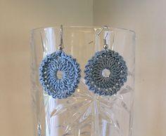 Owl Eye Earrings - Free crochet pattern by Ashley Lanier
