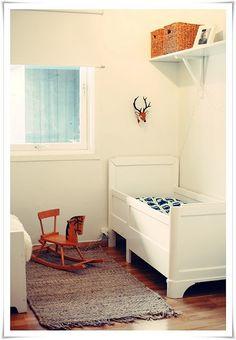 vintage kids rooms via boo + the boy blog