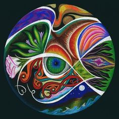 Mrs. B's art blog: personal mandalas.