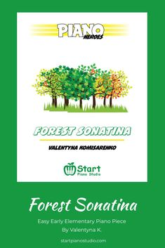 Forest Sonatina is an early elementary piece which introduces a student to ABA form, D.